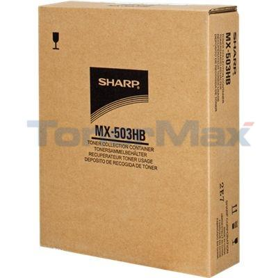 SHARP MX-503U WASTE TONER CONTAINER